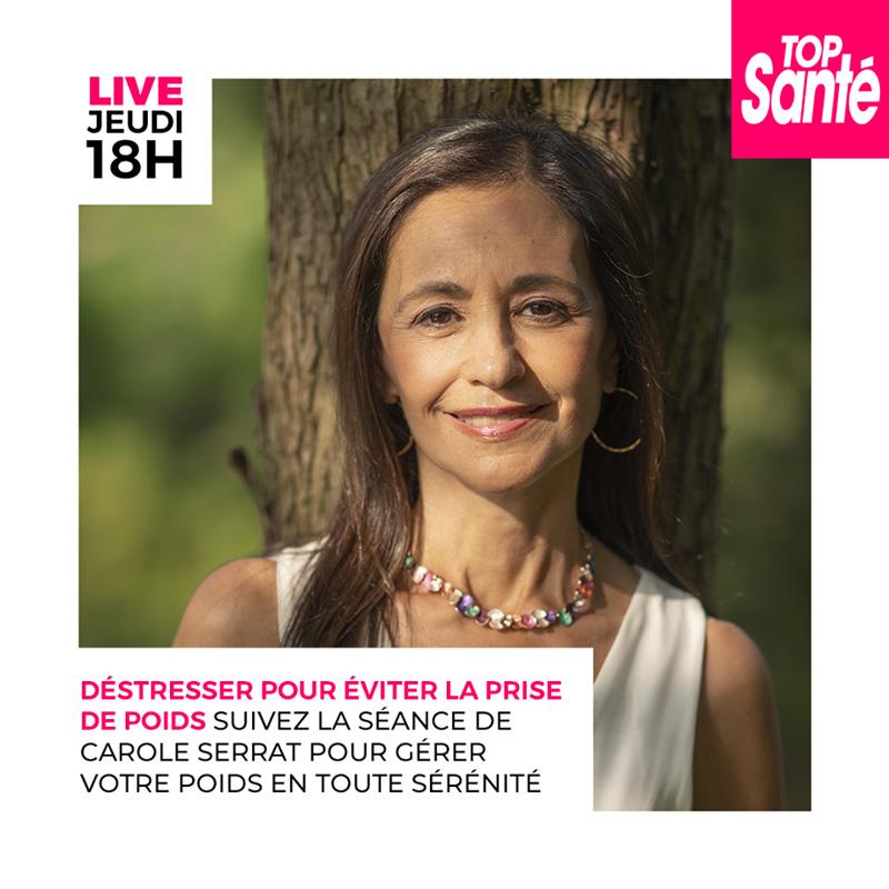 Carole Serrat - Sophrologie pour destresser