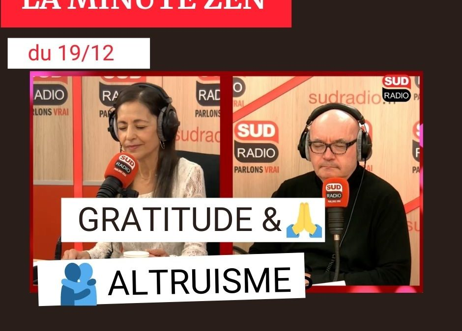 Gratitude et altruisme